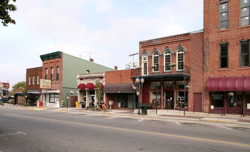 Warsaw Indiana Downtown