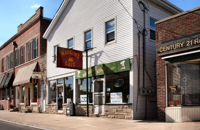 Westfield Indiana Downtown Cafe