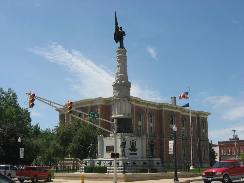 Randolph County Courthouse And Monument