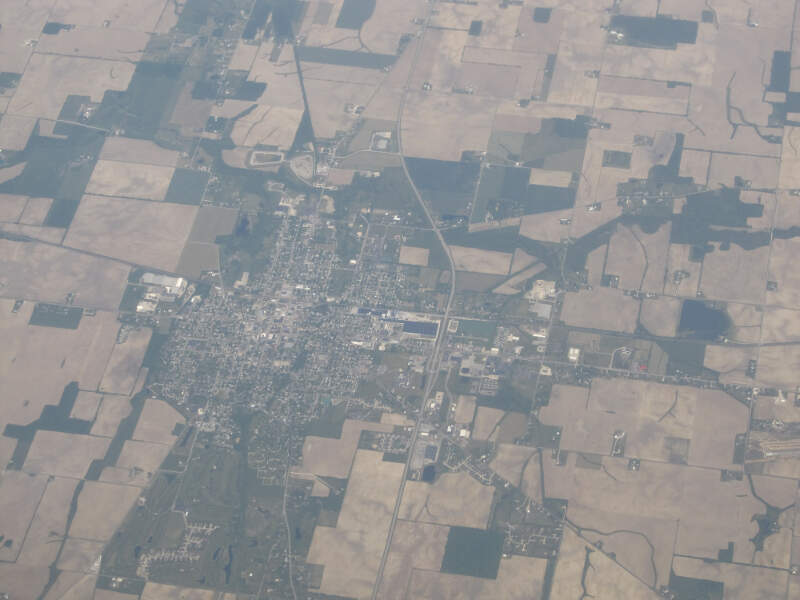 Winchesterc Indiana From The Air