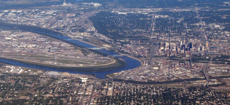 Kaw Point Aerial