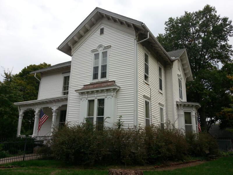 David Josiah Brewer Housec Leavenworthc Kansas