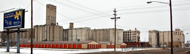 Salina Grain Elevators
