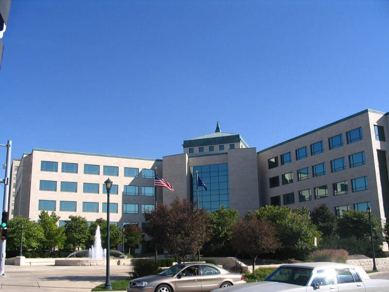 Curtis Building In Topeka