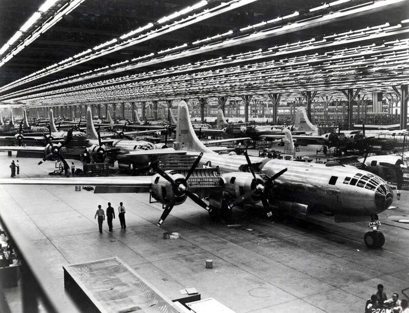 Boeing Whichata B Assembly Line