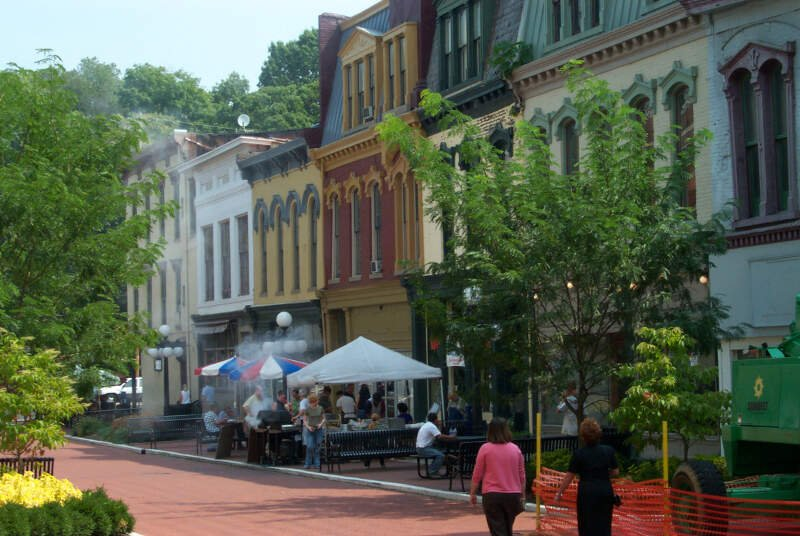 Downtown Frankfort Ky