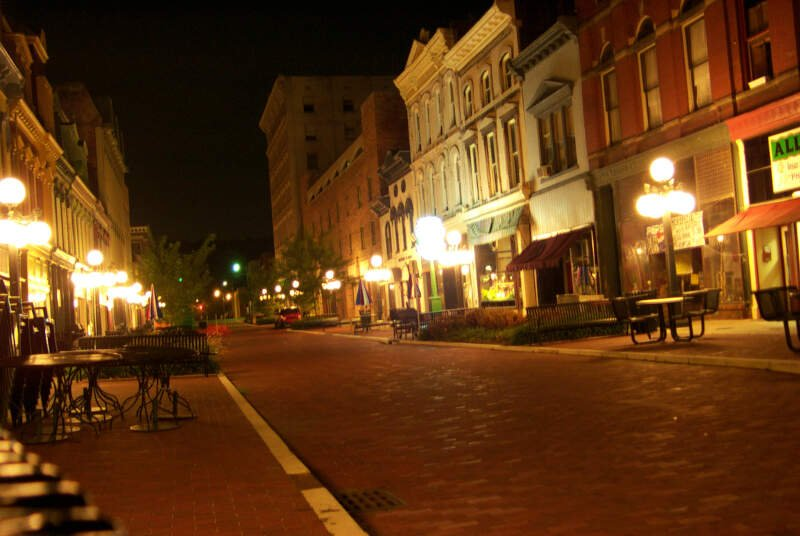 Downtown Frankfort Ky At Night