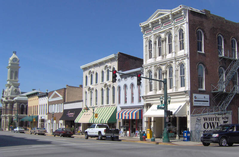 Downtown Georgetown Kentucky