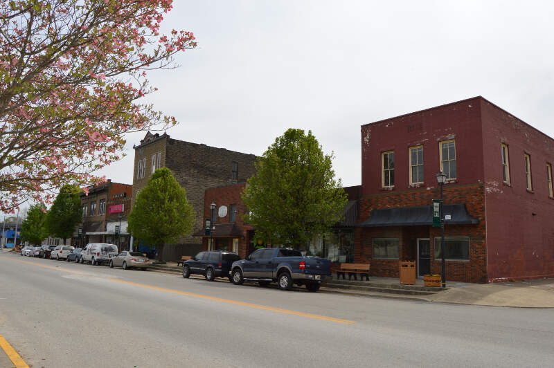 Main Cross In Downtown Louisa
