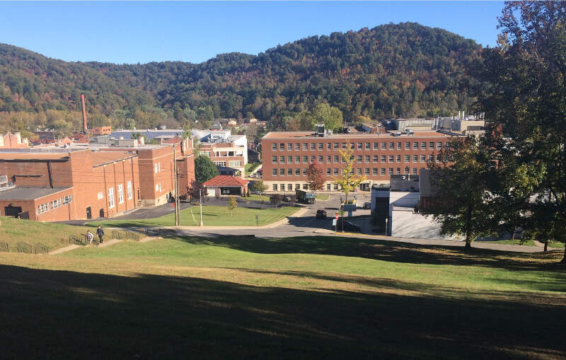 Morehead State Parking Lot View