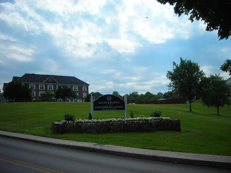 University Of The Cumberlands Welcome Sign