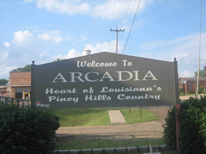 Arcadiac La Welcoming Sign Img