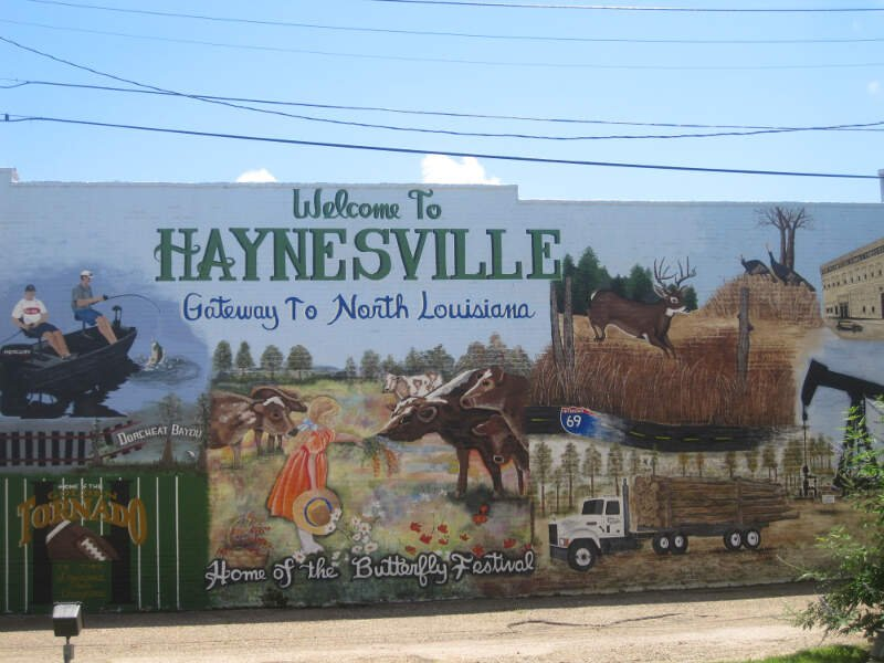 Revised Haynesvillec Lac Welcome Sign Img