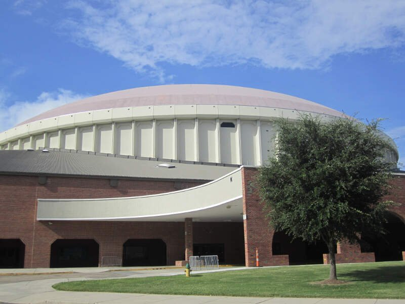 Another View Of The Cajundome In Lafayettec La Img
