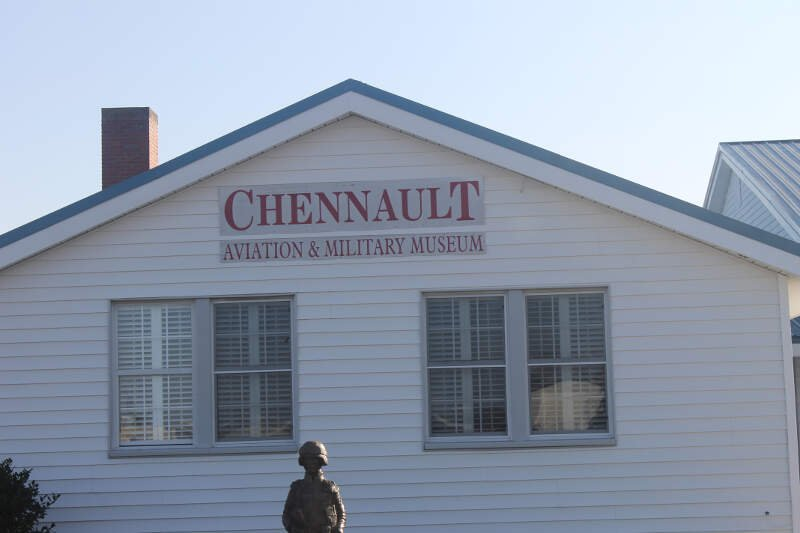 Chennault Aviation And Military Museum In Monroec La Img