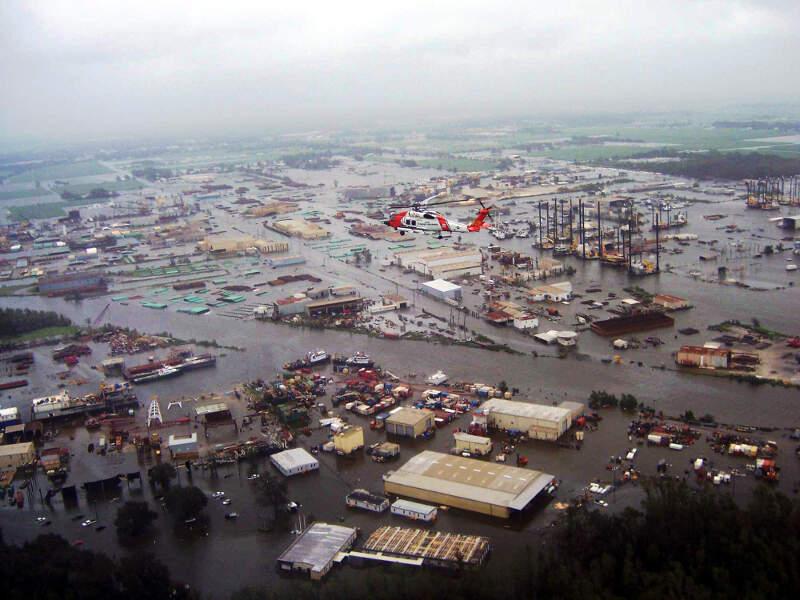 Hurricane Ike New Iberia