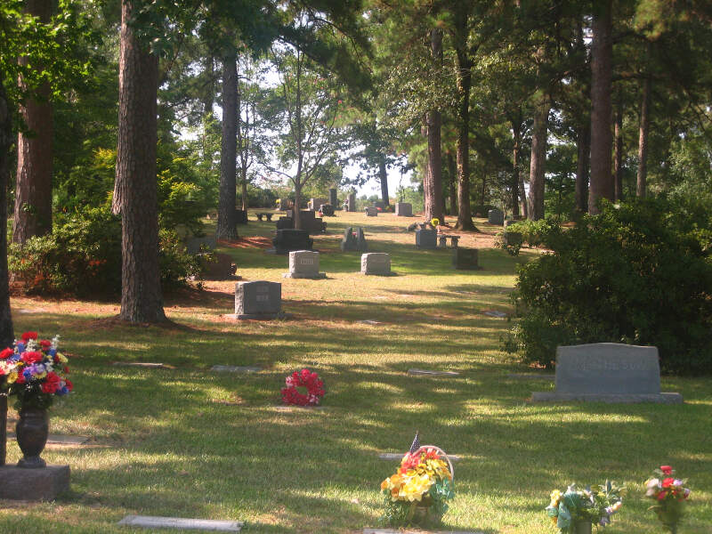 Graves At Greenwood Memorial Park Img