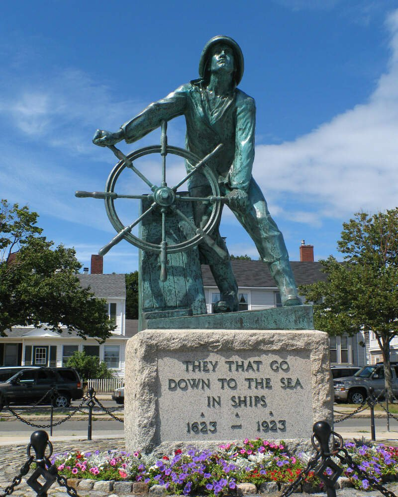 Gloucester Ma   Fishermans Memorial