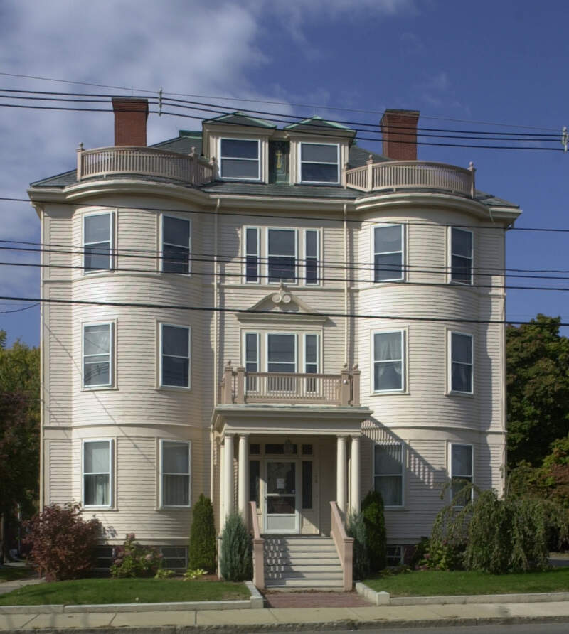 Immaculate Conception Rectory Revere Ma
