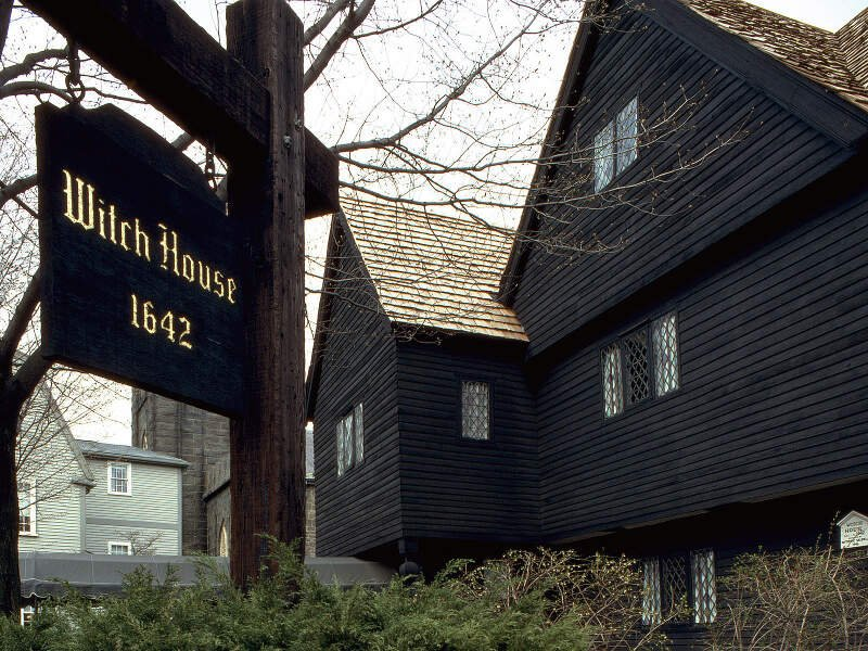 Salem Witch House Ii