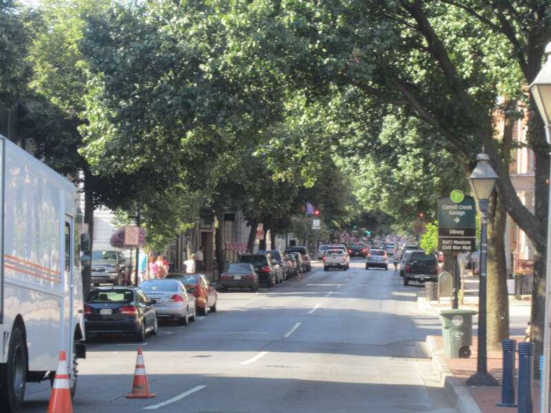 Downtown View Of Frederickc Md Img