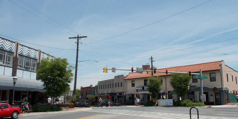 Takoma Park Downtown