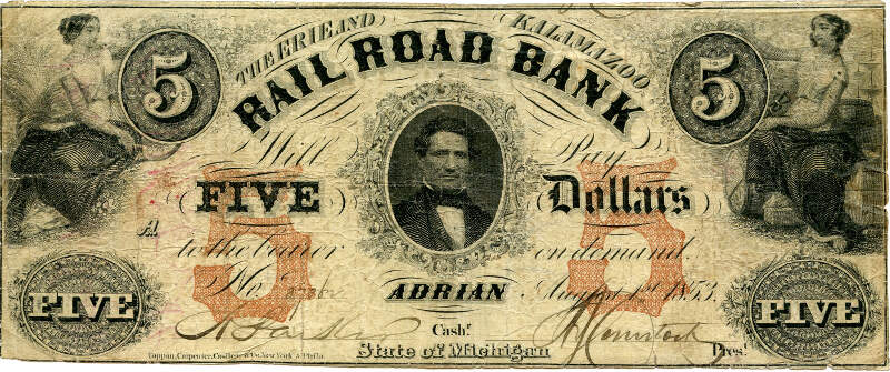 Erie And Kalamazoo Banknote