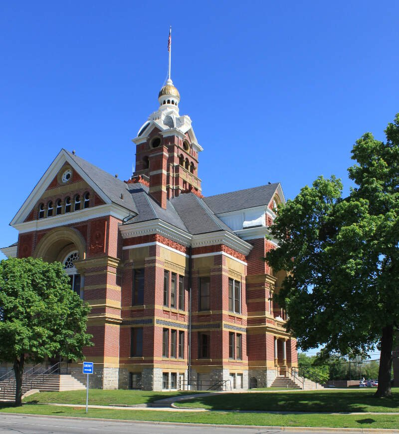 Lenawee County Courthouse Adrian Michigan