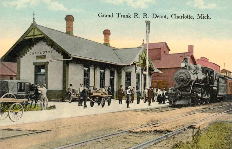 Grand Trunk Depotc Charlottec Michigan
