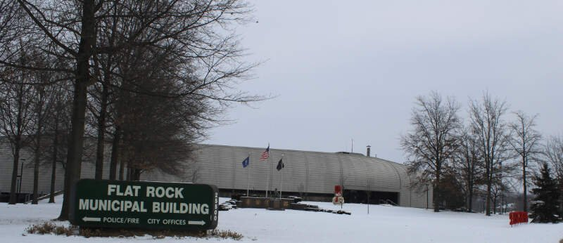 Flat Rock Michigan Municipal Building