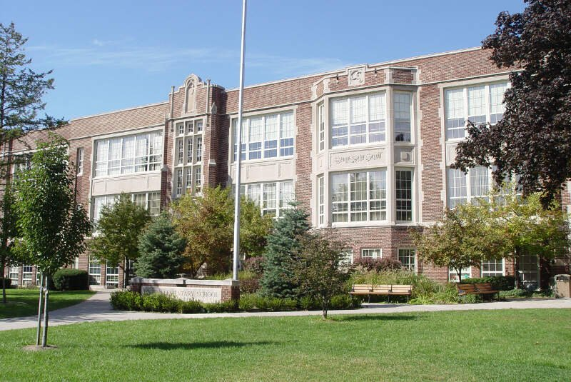 Defer Elementary Schoolc Grosse Pointe Parkc Michigan October C
