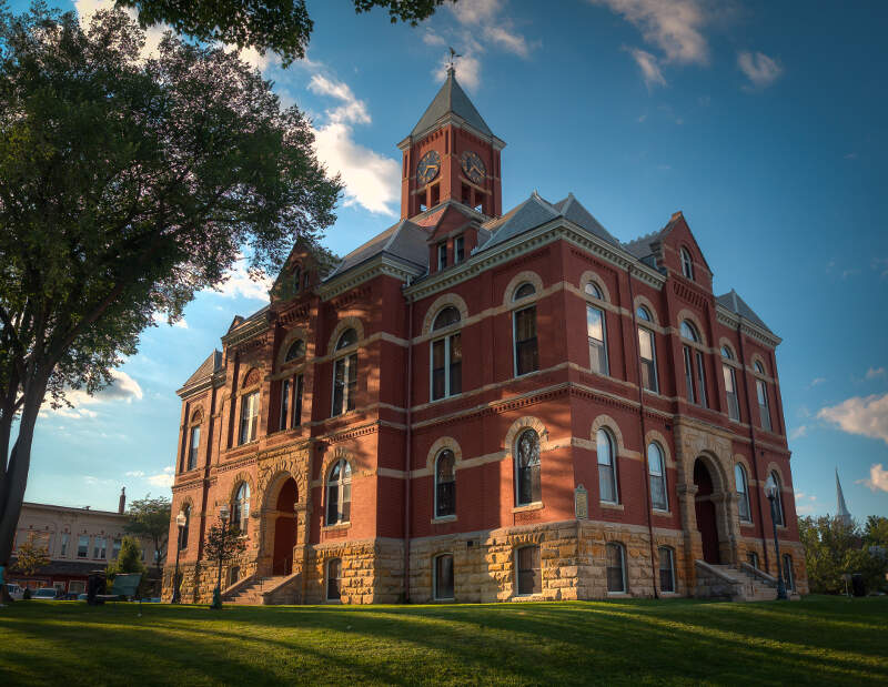 Howell Courthouse By Joshua Young