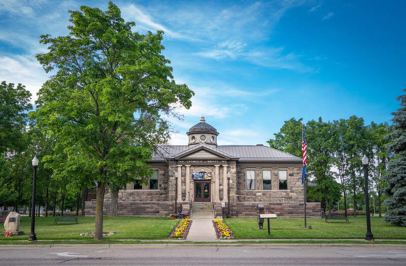 Howell Carnegie Library By Joshua Young