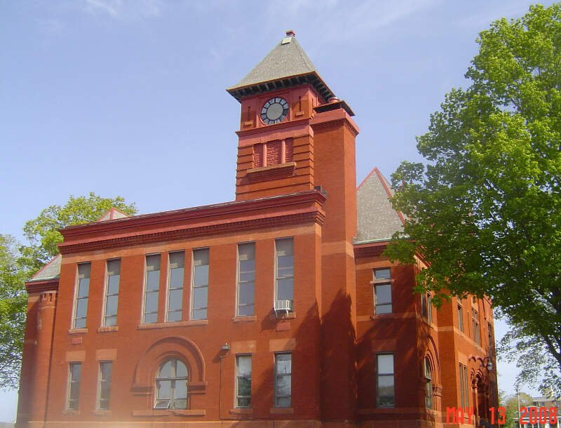 Mason County Courthouse Clock Tower
