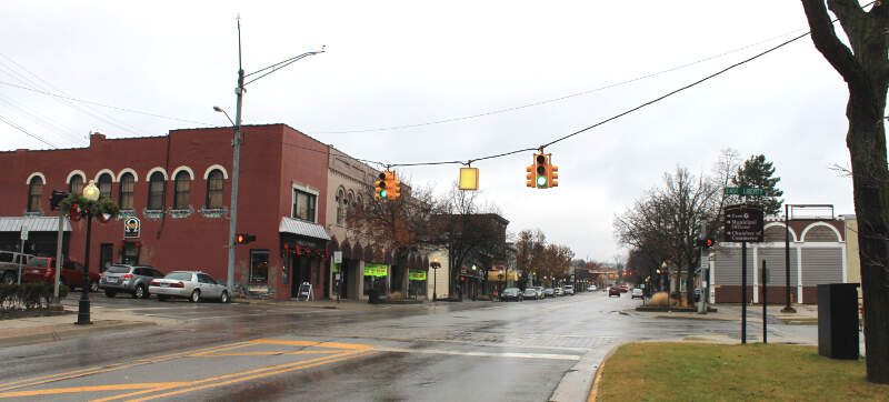 Milford Michigan Central Business District