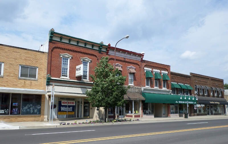 West Town Historic District Owosso