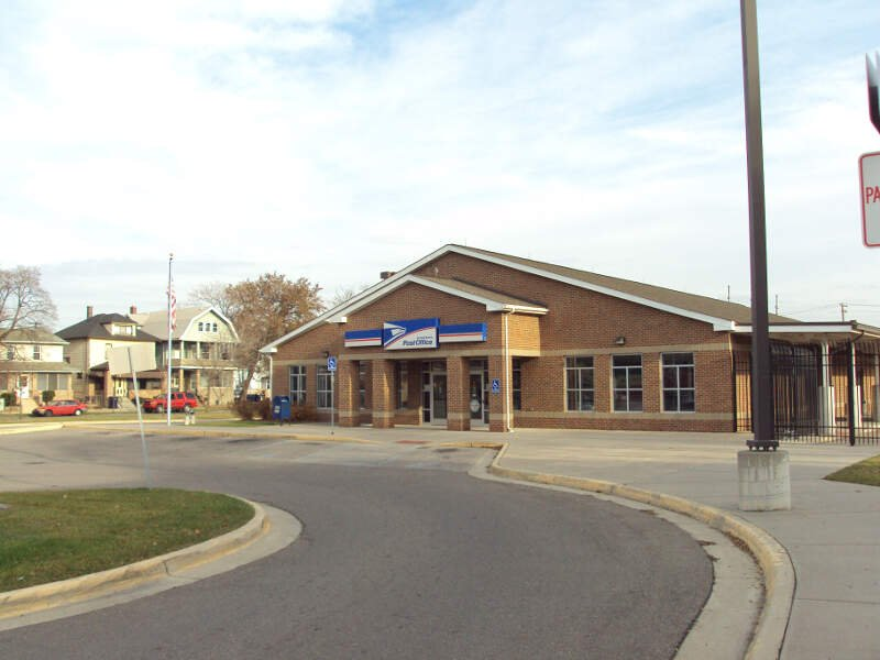 River Rouge Post Office Michigan