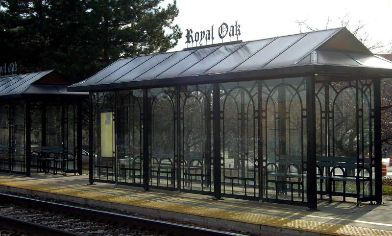 Royal Oak Train Platform