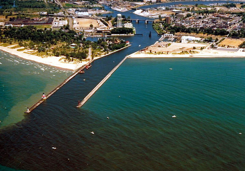 St Joseph Michigan Aerial View