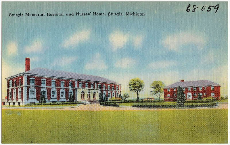Sturgis Memorial Hospital And Nurses Homec Sturgisc Michigan