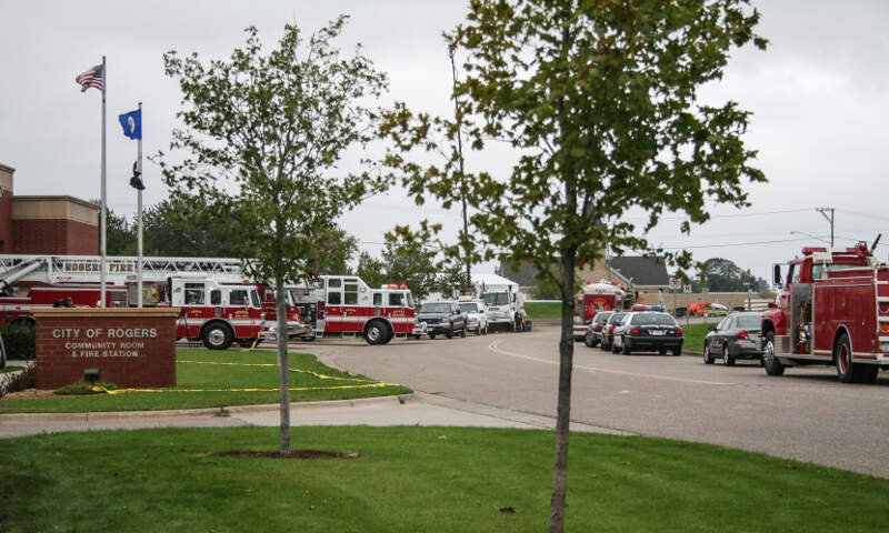 City Of Rogers Minnesota Community Room And Fire Station