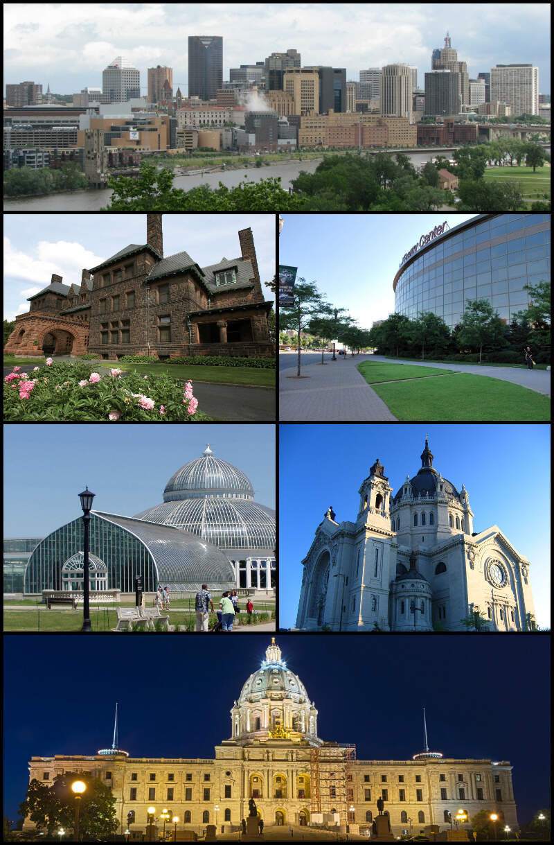 Saint Paul Photo Collage