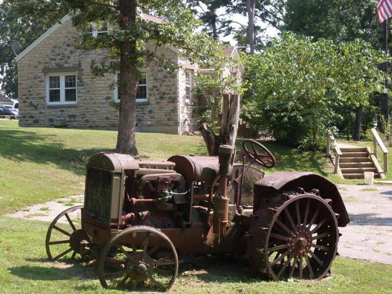 Mark Twain Forest Tractor