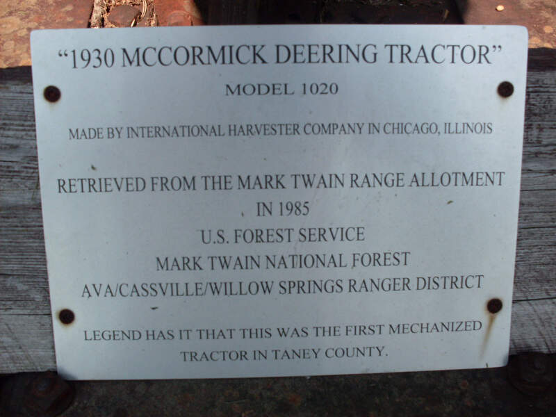 Mark Twain Forest Tractor Legend