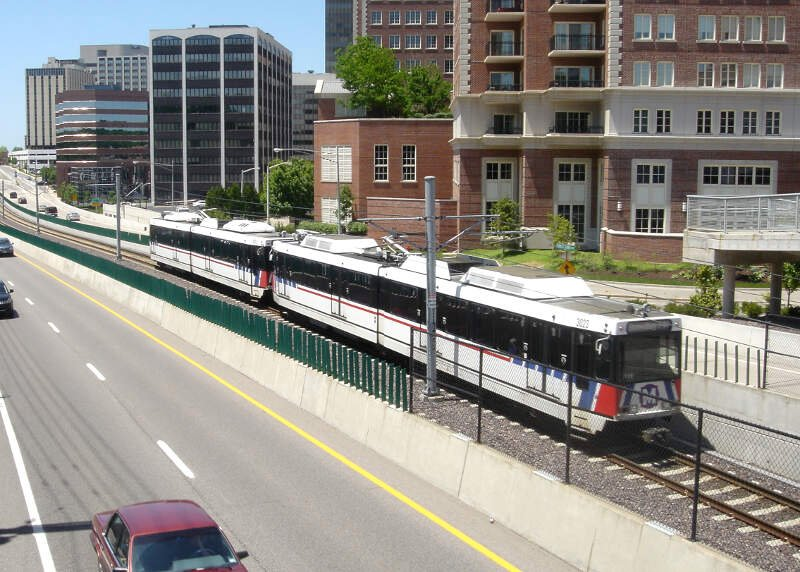 Metrolink Passing Clayton
