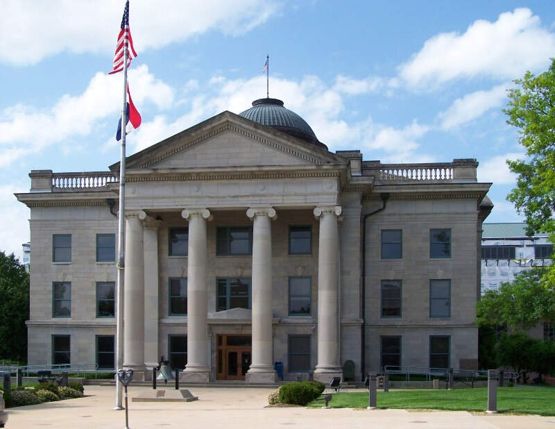 Boone County Courthouse In Columbiac Missouri