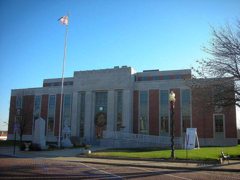 Fulton County Missouri Courthouse
