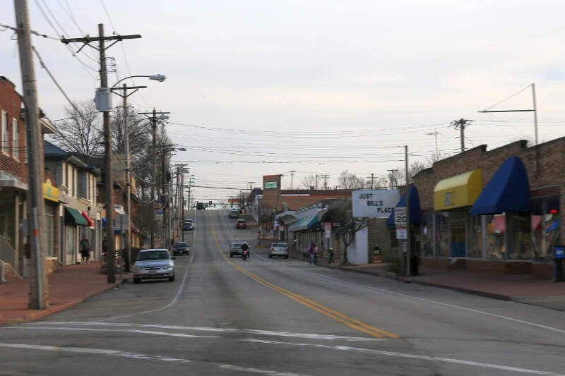Downtown Overlandc Missouri