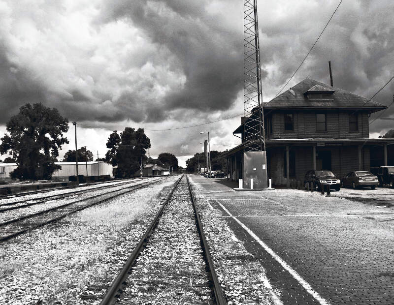 Grenada Mississippi Train Depot