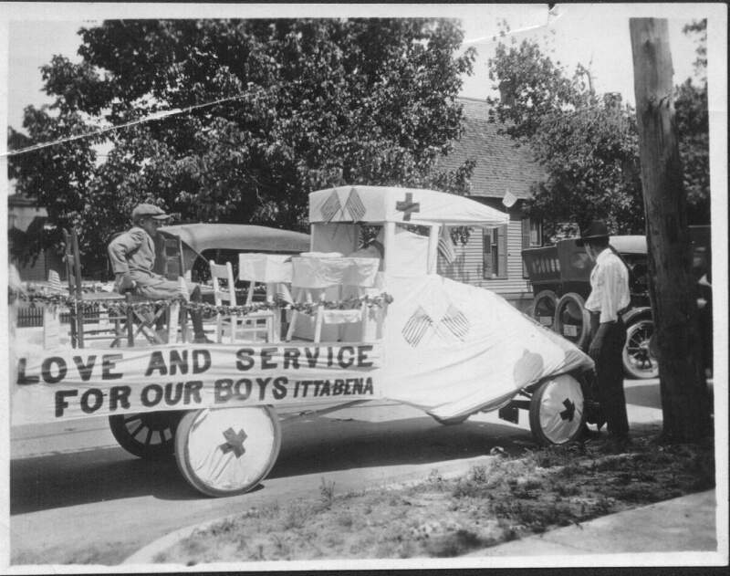 Itta Bena Ms Wwi Parade Love And Service For Our Boys Float